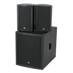 Compact speaker set